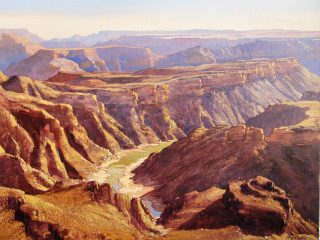 Fish River Canyon, Namibia - W94cm X H73cm R28,000